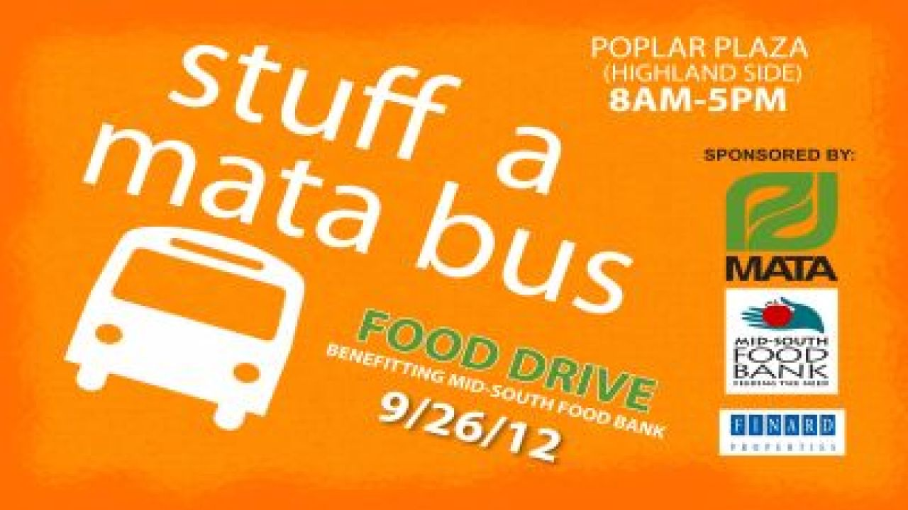 Stuff A MATA Bus Wednesday For Mid-South Food Bank