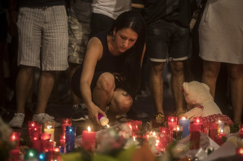 Memorial Tirbute for victims of terror attack