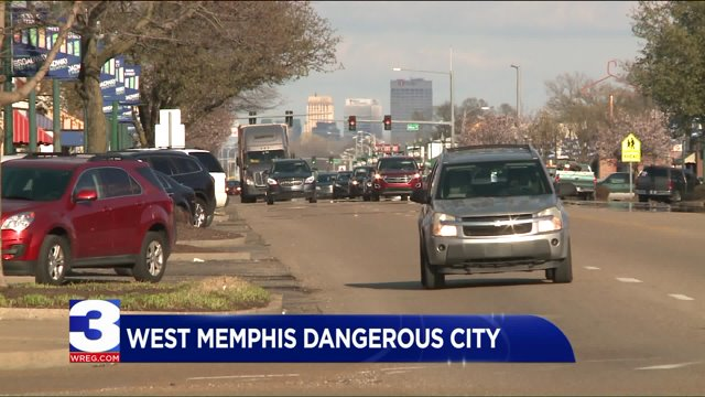 West Memphis In Top 10 Of Most Dangerous Cities List