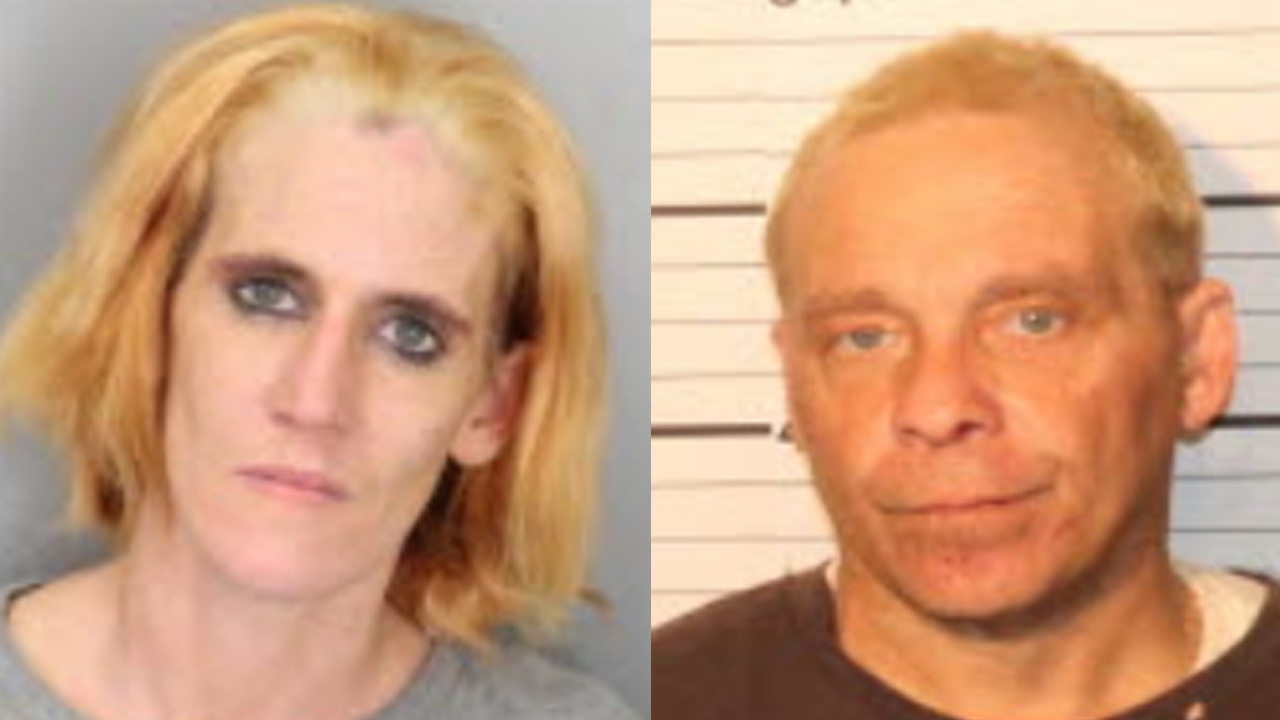 Two people accused of stealing from a Memphis school