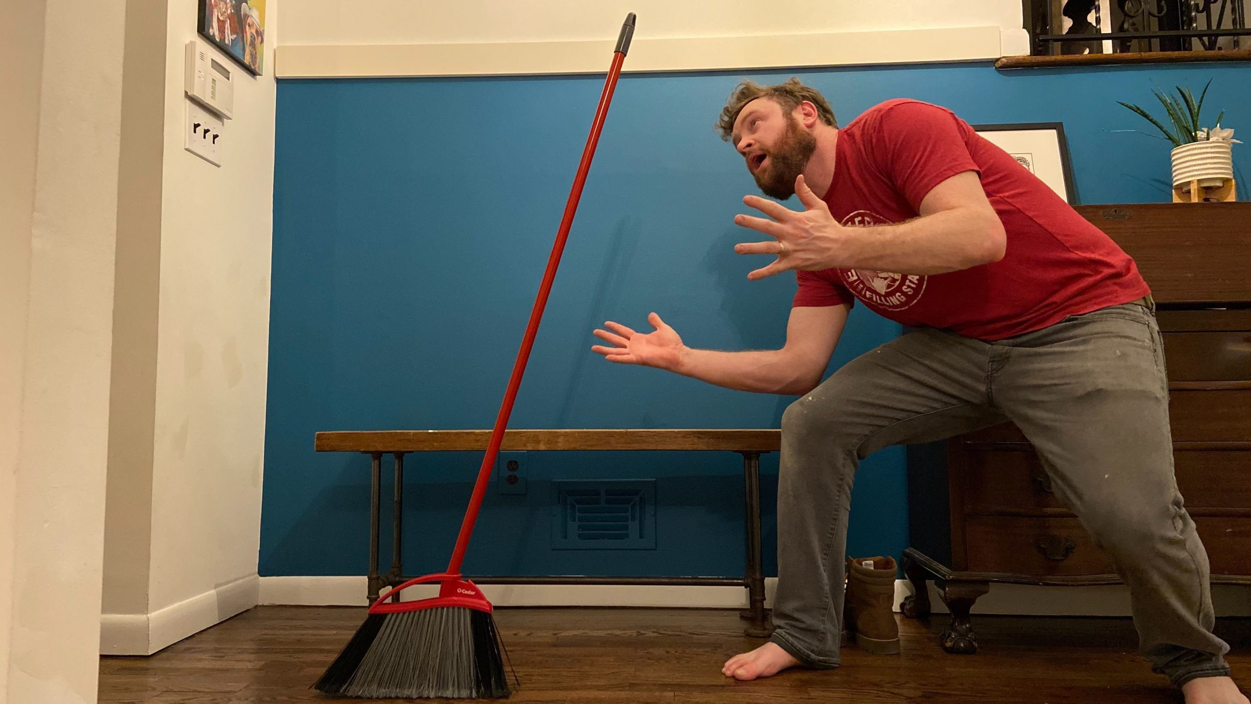 Hate To Break It To You But You Can Make A Broom Stand Upright Any Day Of The Year