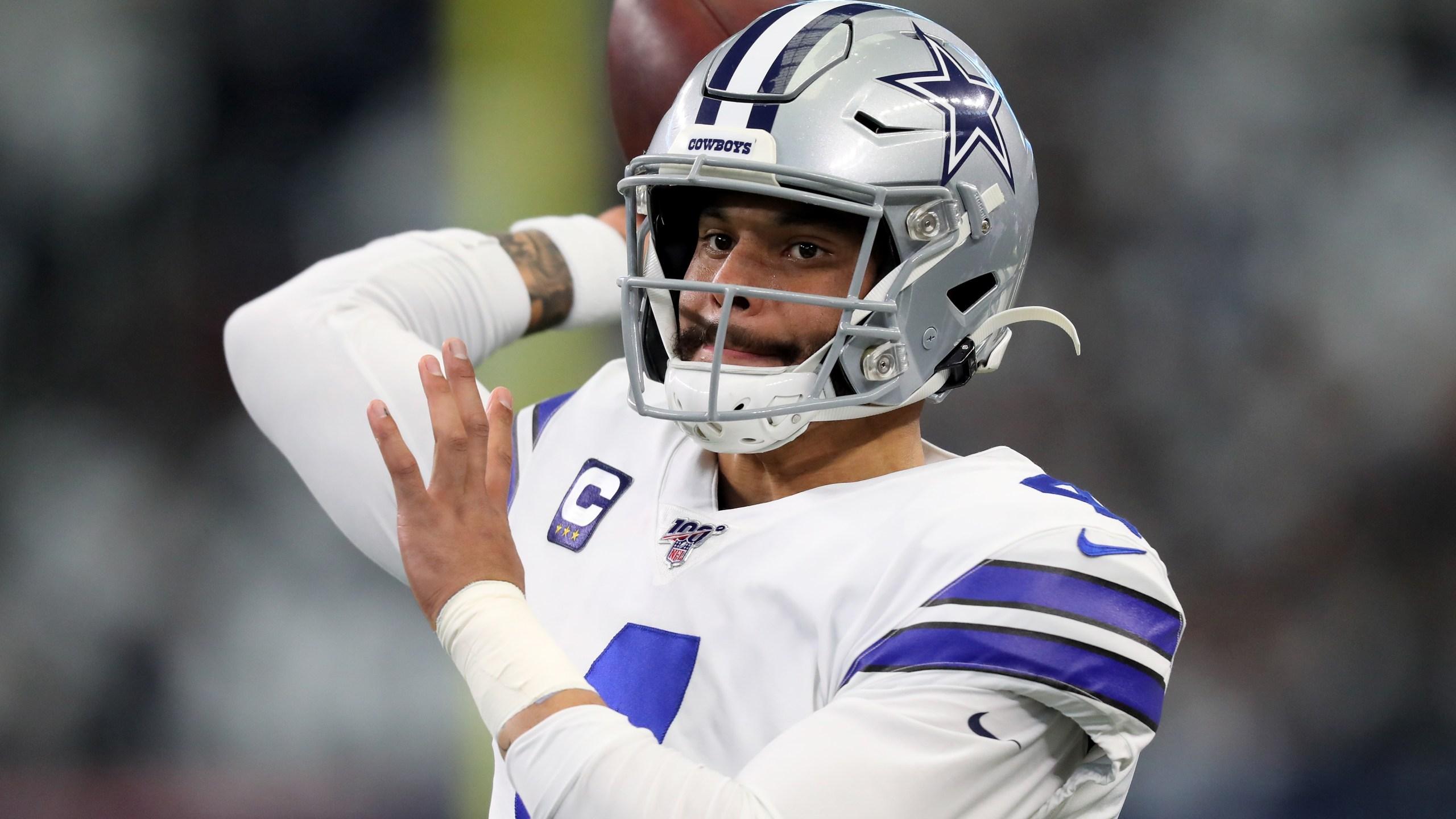 Cowboys Use Franchise Tag On Qb Dak Prescott Wreg Com