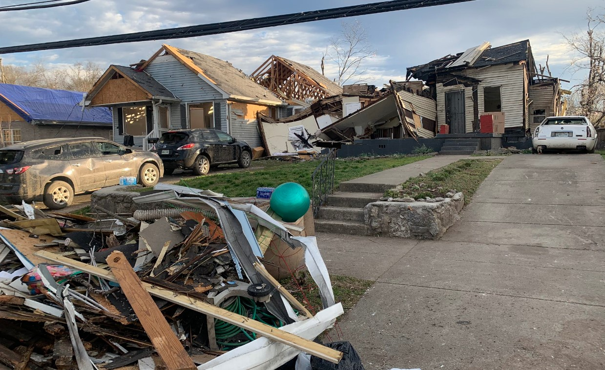 Death toll at 25 from tornado-producing storms in Tennessee