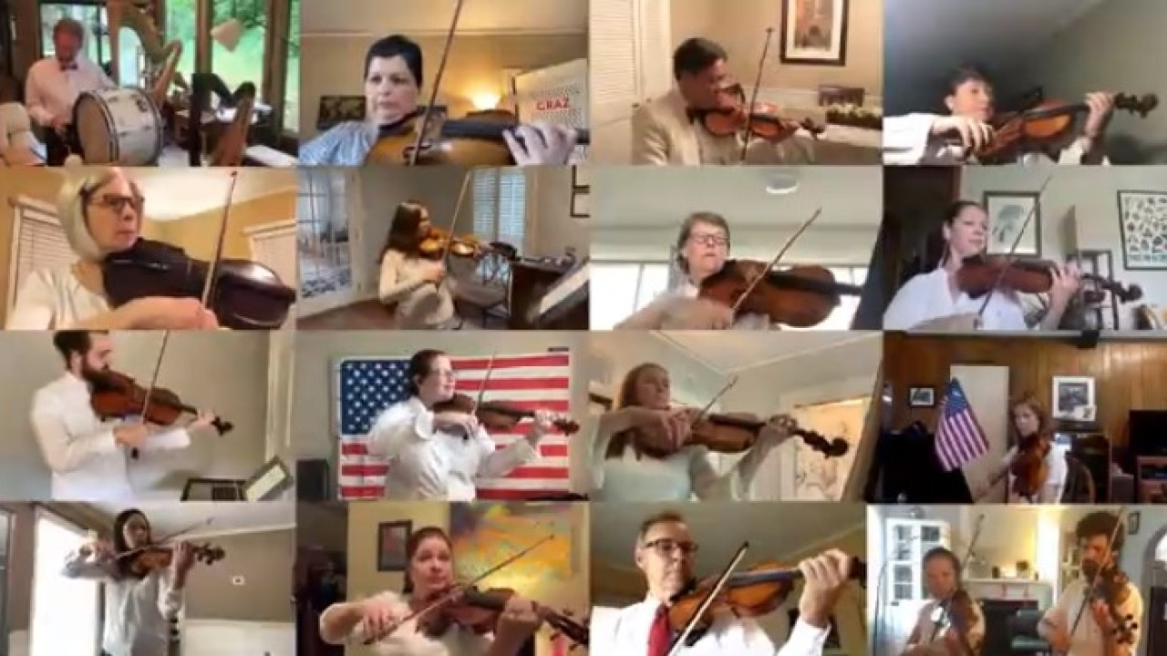 Stars & Stripes Forever: A Memphis Symphony Memorial Day mashup
