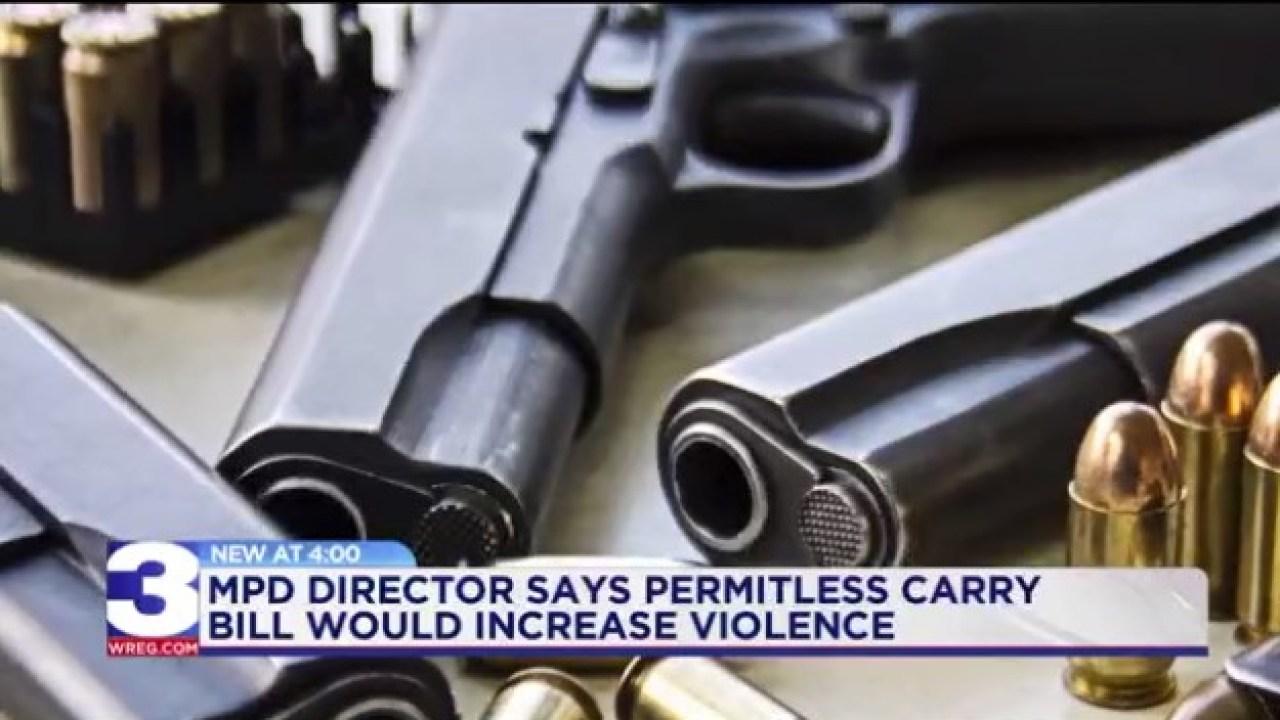 Tennessee gun bill passes committee despite Memphis opposition