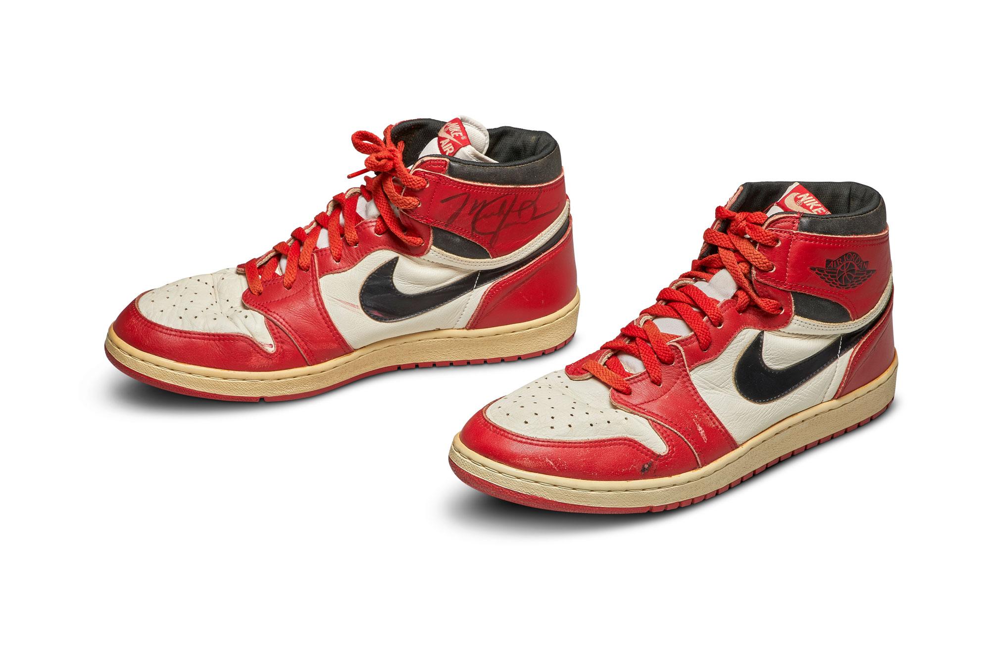 signature Air Jordan shoes