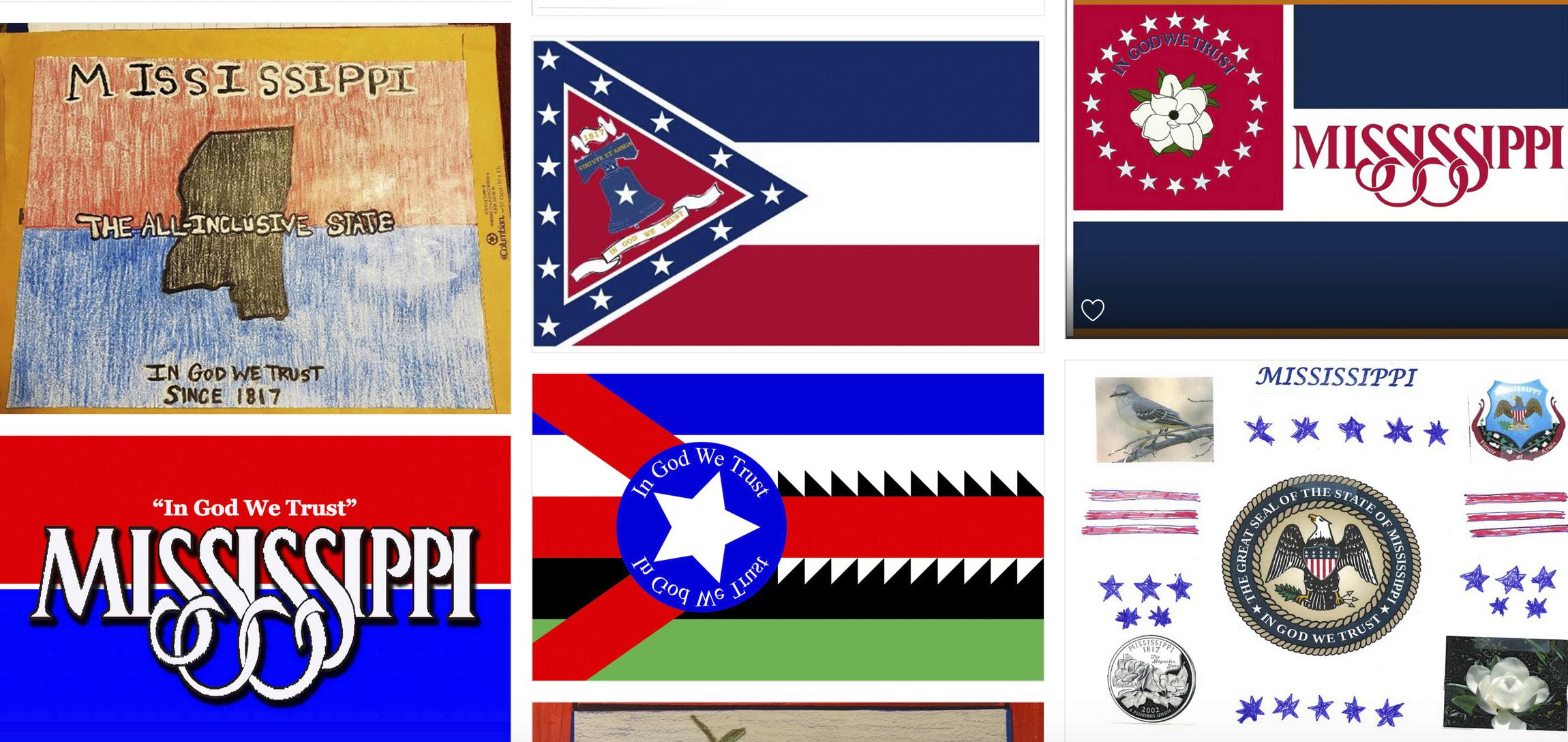 MISSISSIPPI STATE FLAG US MORALE COLOR BADGE Decoration BEST