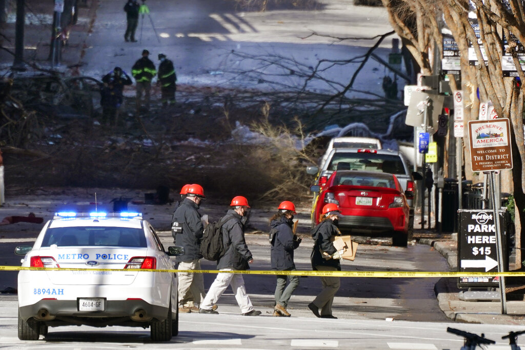 FBI at home of possible person of interest in Nashville explosion