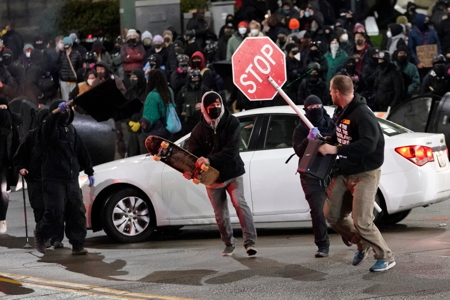 Pictures of Seattle Protest Calendar 2021